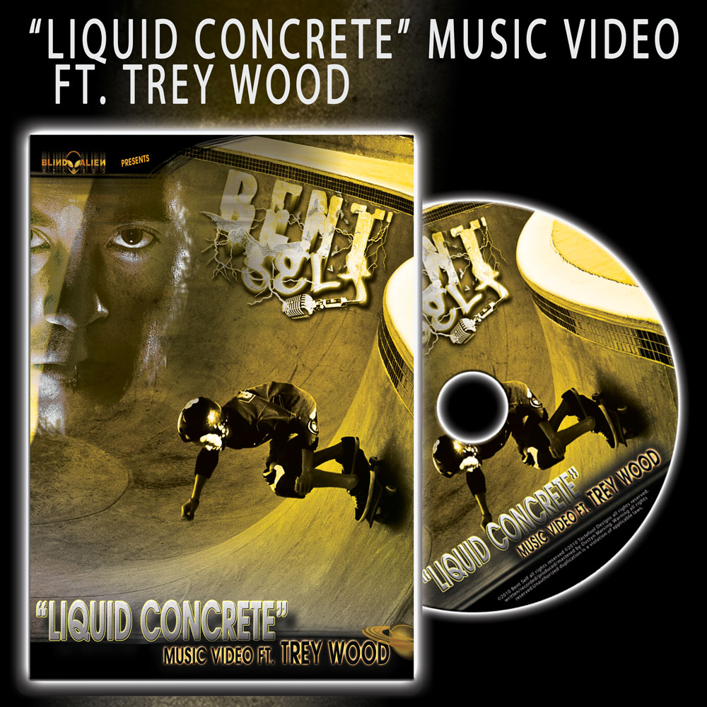 Video: Bent Self – Liquid Concrete Featuring Trey Wood