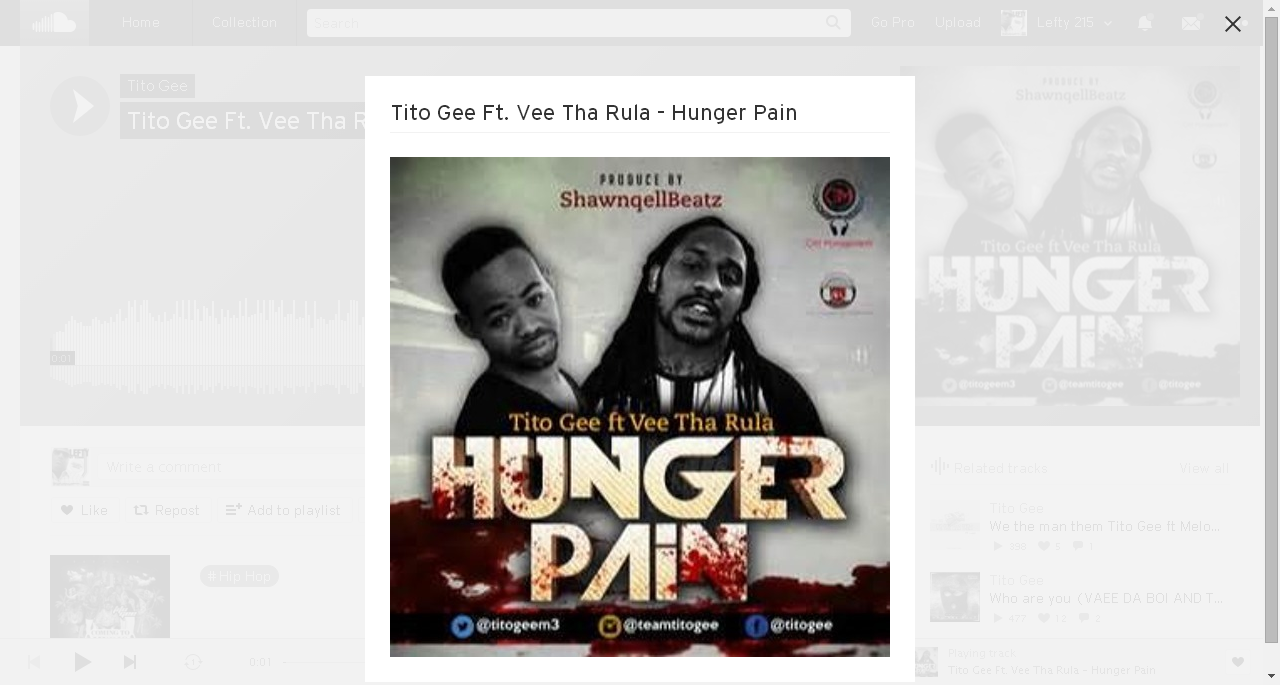 Tito Gee – Hunger Pain Featuring Vee Tha Rula